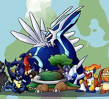 poke-squad by webchow