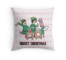 Bobs Burgers Christmas Throw Pillow