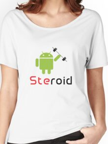 Steroid Women's Relaxed Fit T-Shirt
