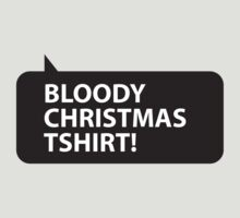Bloody Christmas T-shirt by PaintMeBlack