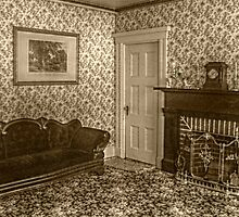 Downstairs Sitting Room, Lizzie Borden's House by Jane Neill-Hancock