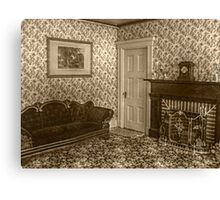 Downstairs Sitting Room, Lizzie Borden's House Canvas Print