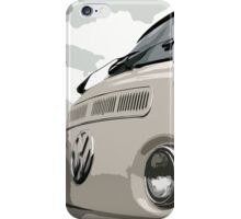 White VW Bay iPhone Case iPhone Case/Skin