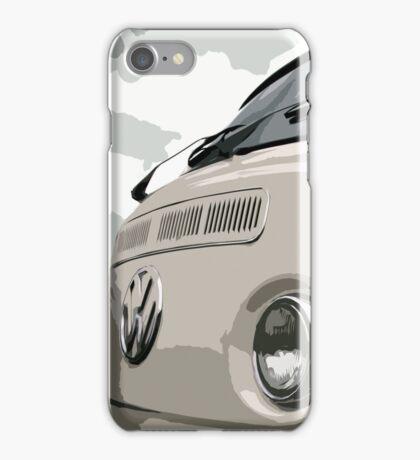 White VW Bay iPhone Case iPhone Case/Skin