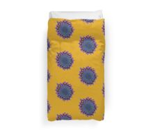 Abstract African Daisy Duvet Cover