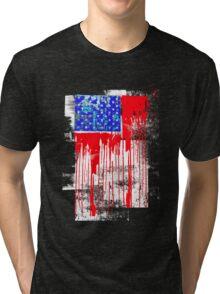 flag america abstracta Tri-blend T-Shirt