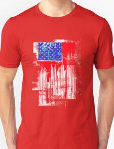flag america abstracta Unisex T-Shirt