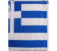 Greek Flag iPad Case/Skin