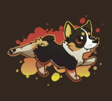 Corgi Splash - Tricolor by AylaStarDragon