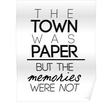 Paper Towns Quote Poster