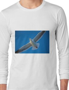 Free On Wings Long Sleeve T-Shirt