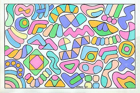 FREE FIGURES IN PASTEL by RainbowArt
