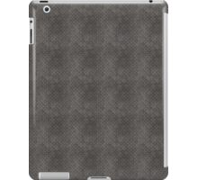 Gray Textured Industrial Metal iPad Case/Skin