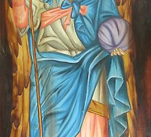 Gabriel, bringer of souls. by Michelle Gerber