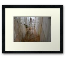 Chairs Framed Print