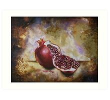 Pomegranate Art Print
