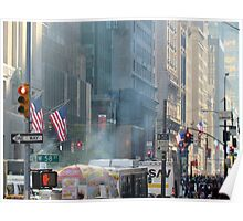 58th Street at 5th Avenue, New York City Poster