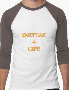 Knittaz 4 Life Men's Baseball ¾ T-Shirt