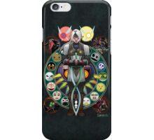 Art Nouveau Fierce Deity Link iPhone Case/Skin