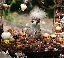 Market Folk - Nutlidge Market by MaryJaneBayliss