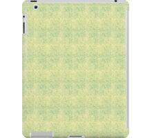 Faded Blue Micro Dots on Yellow iPad Case/Skin