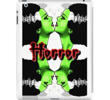 The Horror The Evil iPad Case/Skin