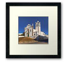 Igreja Matriz de Estoi Framed Print