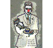 Death of a clown Photographic Print