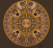Pokemon Mayan Calendar by castelmi