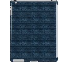 Dark Blue Music iPad Case/Skin