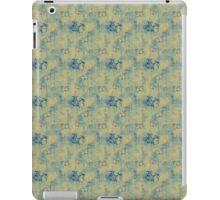 Dark Blue Butterflies on Grunge iPad Case/Skin