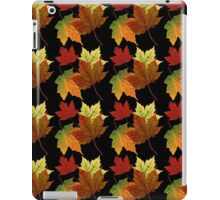 Colorful Fall Leaves iPad Case/Skin