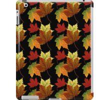 Colorful Fall Leaves iPad Case/Skin