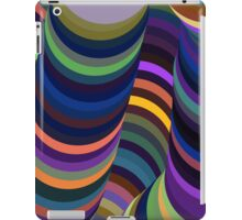 Colorful 3D Tunnel iPad Case/Skin