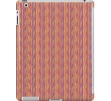 Broken Purple Pink and Yellow Lines iPad Case/Skin