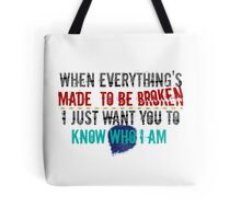 Iris - Goo Goo Dolls Tote Bag