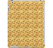 Black Trees on Vintage Paper iPad Case/Skin