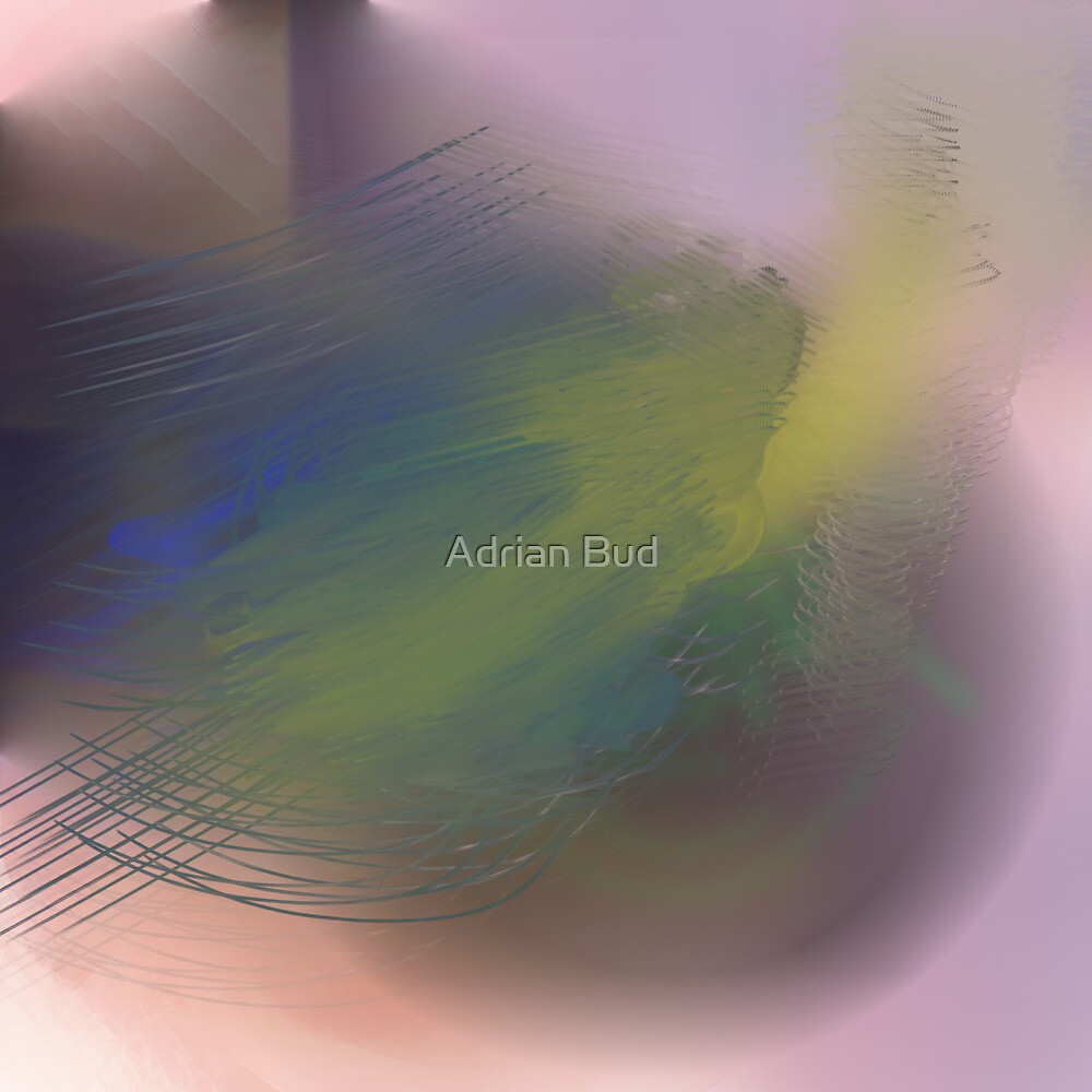 Abstract pastel 2 by Adrian Bud