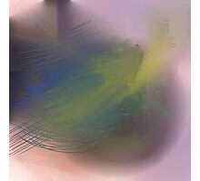 Abstract pastel 2 Photographic Print