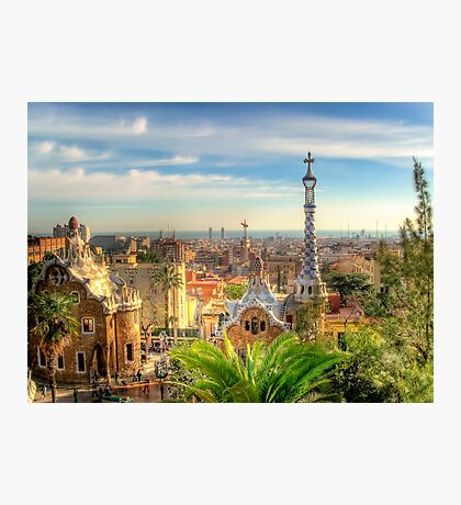 """Parc Guell"" (Barcelona) Photographic Print"
