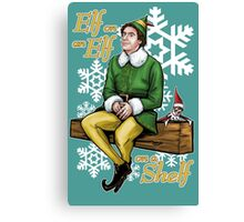 Elf on an Elf on a Shelf Canvas Print