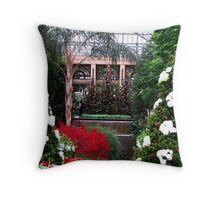 A Longwood Gardens Christmas  Throw Pillow