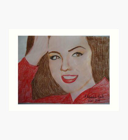 Thalia ...the pretty woman.... Art Print