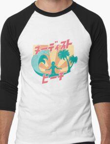 NUDIST BEACH Men's Baseball ¾ T-Shirt