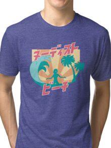 NUDIST BEACH Tri-blend T-Shirt
