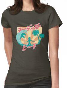 NUDIST BEACH Womens Fitted T-Shirt