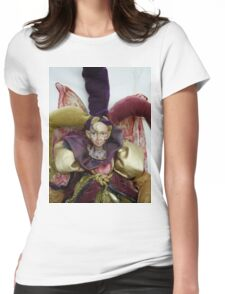 Iwiki Doll Womens Fitted T-Shirt