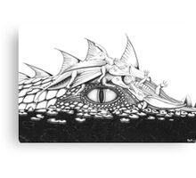Baby Dragons with Mum Canvas Print