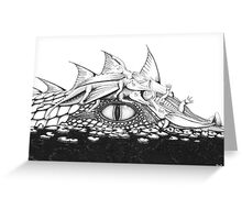 Baby Dragons with Mum Greeting Card