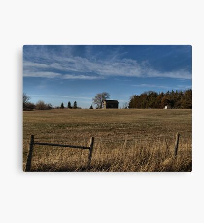 Along the Eastern Edge of the Great Plains Canvas Print